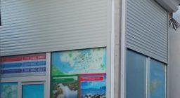 Рольставни для торгового павильона