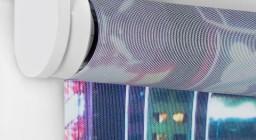 рулонные шторы вместо двери