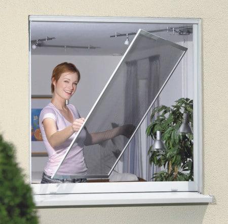 Нужно ли на зиму снимать москитную сетку с окна и почему?