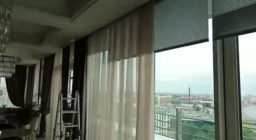 Рулонные шторы с электроприводом SOMFY