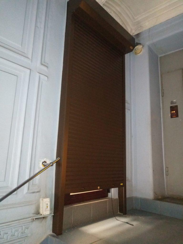 рольставни на двери наружные