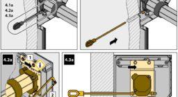 Монтаж роллетных решеток