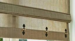Оригинальное решение интерьера — римские шторы