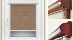 Рулонные шторы на окна без сверления — преимущества и возможности