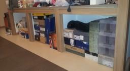 мебельные роллеты для обувного шкафчика