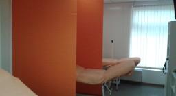 Японские шторы для клиники