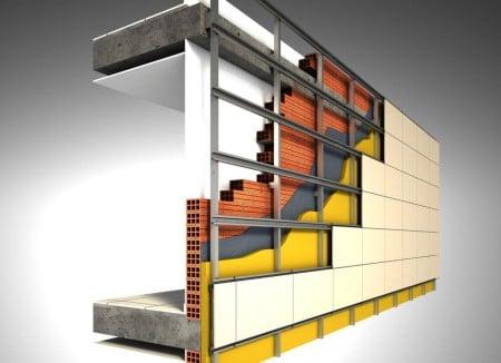 Конструкция вентилируемых фасадов, Вентилируемые фасады