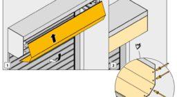 Инструкция по монтажу роллетных ворот системы 4-1