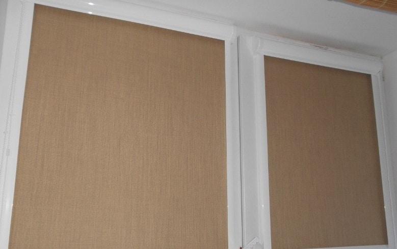 рулонные кассетные шторы