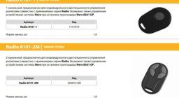 Системы радиоуправления RADIO