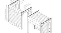 Направляющие Top вертикальный ход на заднюю стенку + улитка