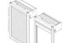 Мебельные жалюзи BOX + Направляющие Frame