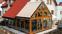 Солнцезащита для зимних садов