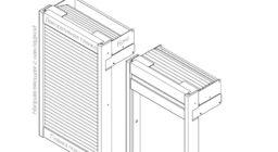 Мебельные жалюзи BOX + Направляющие Mod