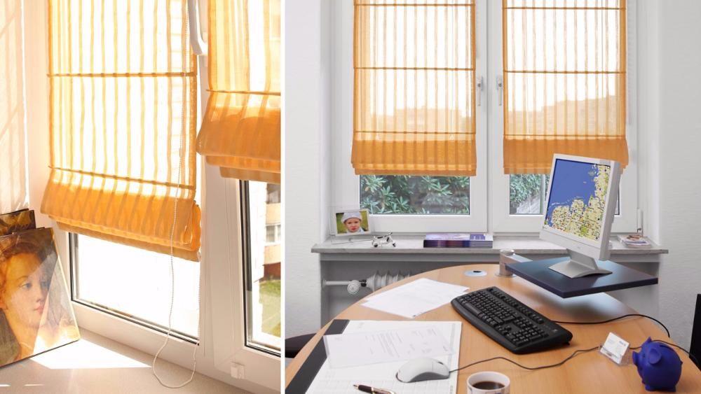 Как вешать римские шторы на пластиковые окна и карниз