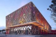 Архитектурные элементы фасада здания в современном строительстве