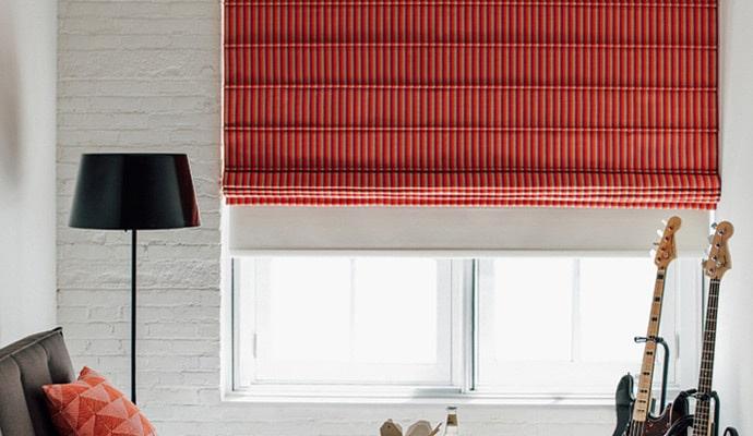 Римские шторы или рулонные шторы – что лучше