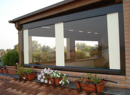 Автоматические мягкие окна