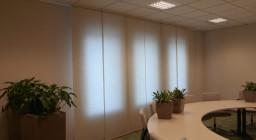 японские шторы для офиса