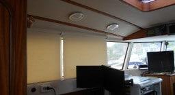 рулонные шторы для катера