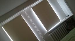 светонепроницаемые рулонные шторы