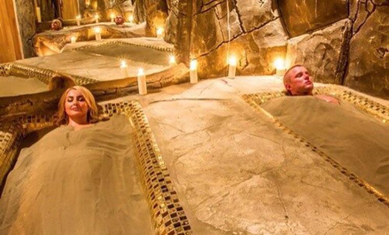 Египетские песчаные бани