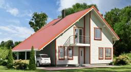 Frame houses, технология строительства каркасных домов, канадская, финская, скандинавская