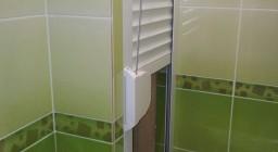 сантехническая роллета со шнуровым приводом