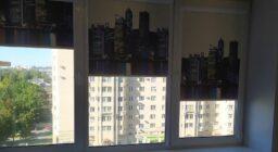 Рулонные шторы Сити день
