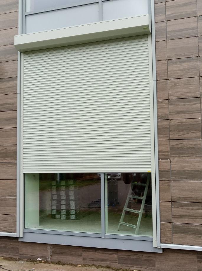 Рольставни на окна наружные