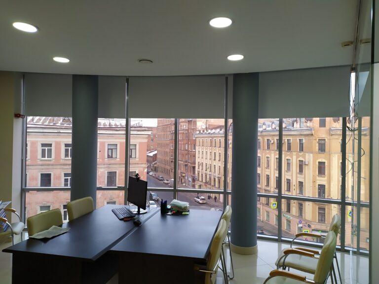рулонные шторы для офисов RBI