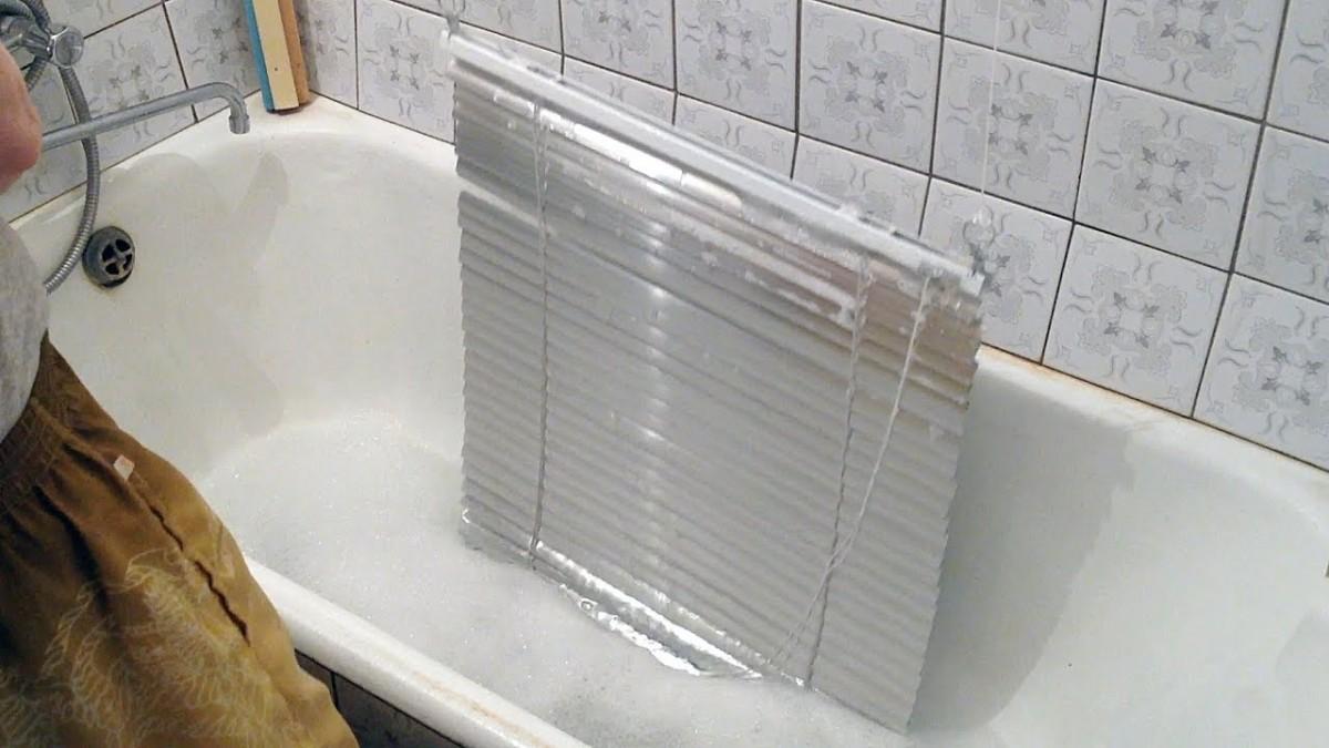 Как чистить и мыть алюминиевые жалюзи