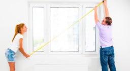 Как измерить рулонную штору. Как правильно замерить окно перед приобретением рулонных штор
