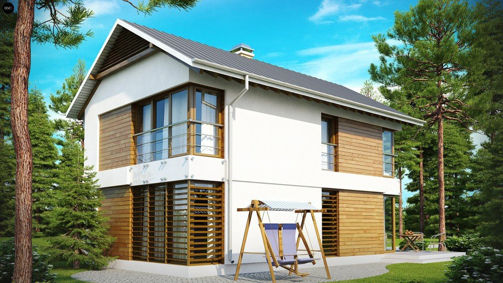 Какими бывают каркасные скандинавские дома. Финская, Канадская технология строительства каркасных домов