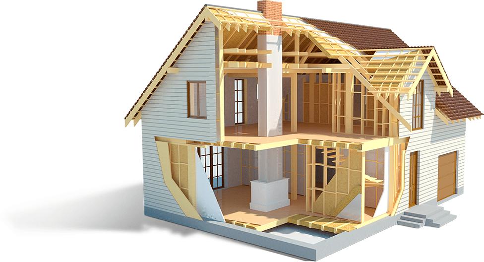 внутренняя отделка каркасного дома, материалы