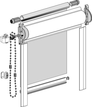 Конструктивные особенности рулонные шторы