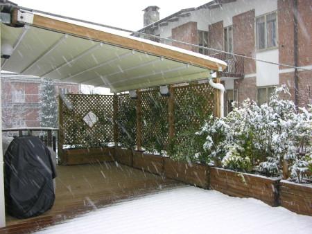 Маркизы от снега