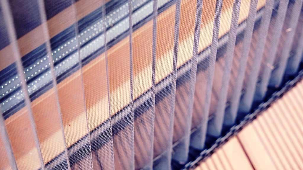Москитные плиссированные сетки