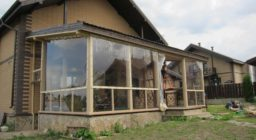 Мягкие окна для дачи