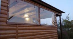 Мягкие окна из ПВХ ткани