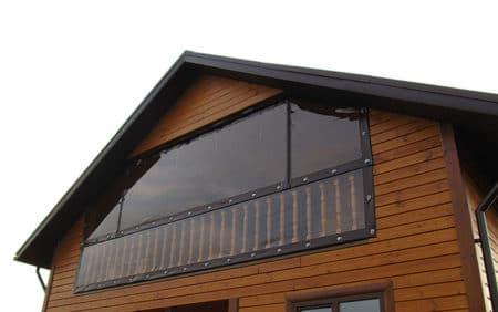 Мягкие окна на балкон