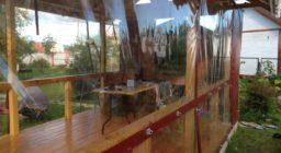 Мягкие окна шторы