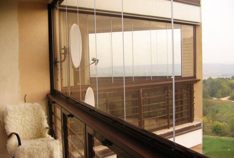 Остекление балконов и лоджий без рам