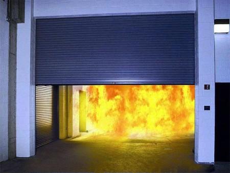 Противопожарные рулонные ворота