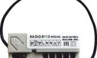 Radio 8113 micro