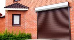 Роллетные ворота для гаража