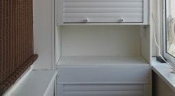 Рольставни для шкафа