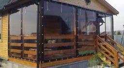 Рулонные мягкие окна