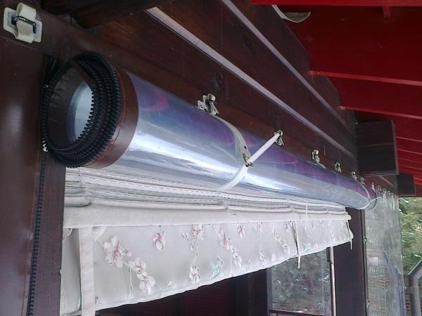 Рулонные мягкие окна из ПВХ