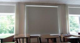 Рулонные шторы для школы